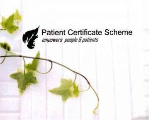 Patient Certificate Scheme